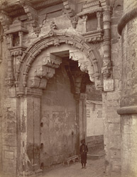 The Gate, Gwalior Fort.